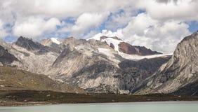 Горы и реки на плато 02 Стоковое Фото