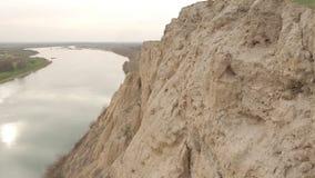 Горы и трава лета песочные видеоматериал