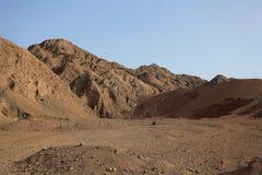 Горы и утесы в Египте Стоковое фото RF
