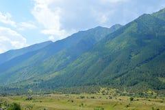 Горы Кавказа, красивые Стоковое Изображение