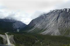 горы Канады утесистые Стоковое Изображение RF