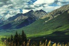 горы Канады утесистые Стоковые Изображения RF