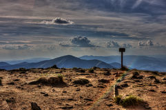 Горы Карпата Стоковые Изображения