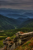 Горы Карпата Стоковое Изображение RF