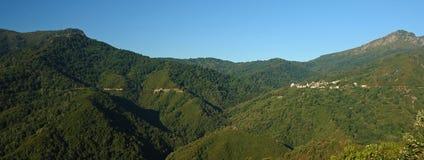 горы Корсики Стоковое Изображение