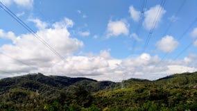 Горы которые составляют бразильскую красоту стоковые изображения rf