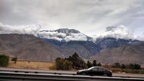 Горы Колорадо скалистые во время последней зимы Стоковые Изображения RF