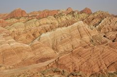 Горы красного песчаника стоковое изображение rf