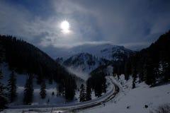 Горы крышки снега Artvin Стоковые Фотографии RF
