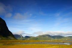 горы ландшафта сценарные Стоковое Изображение RF