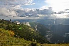 горы ландшафта Стоковые Изображения RF