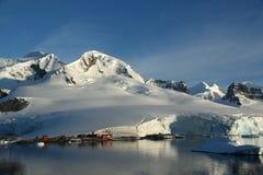 горы ледников Стоковая Фотография