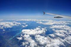 горы летания сверх стоковые изображения