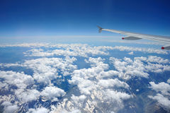 горы летания сверх Стоковое Изображение RF