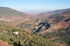 горы Марокко атласа Стоковые Фотографии RF