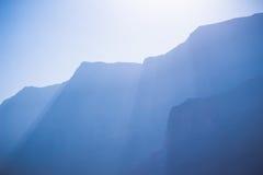 Горы мертвого моря Стоковые Фото