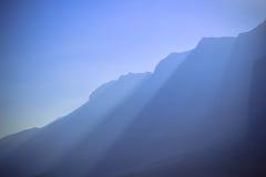 Горы мертвого моря Стоковое Изображение