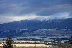 горы Монтаны северо-запад утесистые Стоковое фото RF
