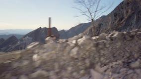 Горы мрамора Каррары