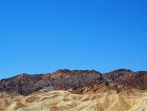 Горы национального парка Death Valley скалистые Стоковое Фото