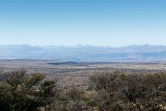 Горы на горах Стоковая Фотография