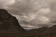 горы на ladakh Leh Стоковое Фото