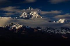 Горы 2 Непала Стоковая Фотография