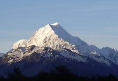 горы Новая Зеландия Стоковые Изображения RF
