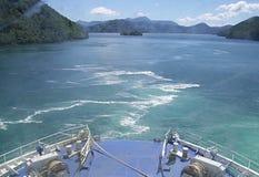 горы Новая Зеландия Стоковое фото RF