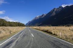 Горы Новой Зеландии Стоковая Фотография RF