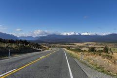 Горы Новой Зеландии Стоковое Фото