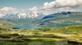 Горы Норвегии Стоковое фото RF