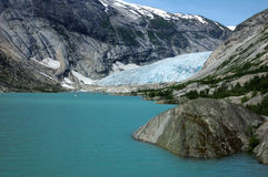 горы Норвегия Стоковая Фотография