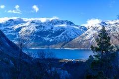 горы норвежские Стоковые Фотографии RF
