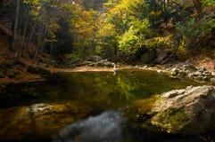 горы озера осени высокие Стоковые Фотографии RF