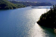 горы озера стоковые изображения rf