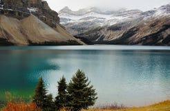 горы озера Стоковые Изображения