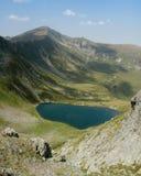 горы озера fagaras Стоковые Изображения