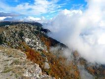 Горы осени Крыма Стоковая Фотография RF