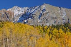 горы осени утесистые Стоковые Изображения RF