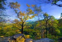 горы осени Стоковая Фотография