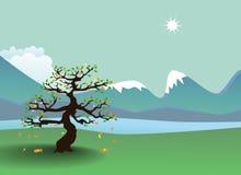 горы осени Иллюстрация вектора