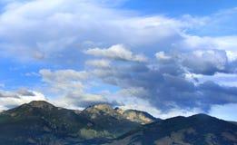 Горы долины рая Стоковые Изображения