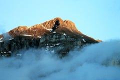 Горы доломита Стоковые Изображения