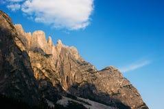 Горы, доломиты Италия Стоковое Изображение RF