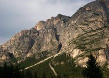 Горы, доломиты Италия Стоковое Фото