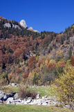 горы падения Стоковые Фото