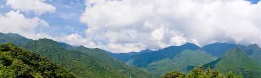 горы панорамные Стоковые Изображения