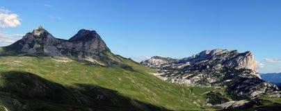 горы панорамные Стоковое Изображение RF