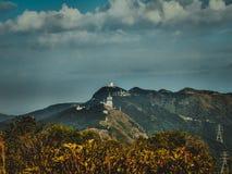 Горы парка страны утеса льва Гонконга Стоковое Изображение RF